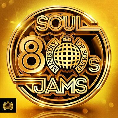 Various Artist Ministry Of Sound: 80s Soul Jams  3 CD NEW sealed