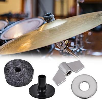φ2.5cm/φ4cm/φ5cm Felt Washers Pads Cymbal Stand Sleeves For Drum Kit Replacement