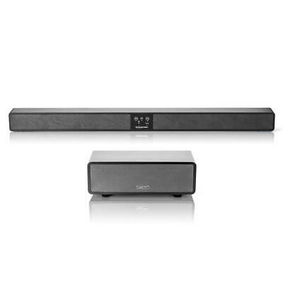 PrimeCables® Stereo Bluetooth Sound Bar with Wired Subwoofer 2.1CH
