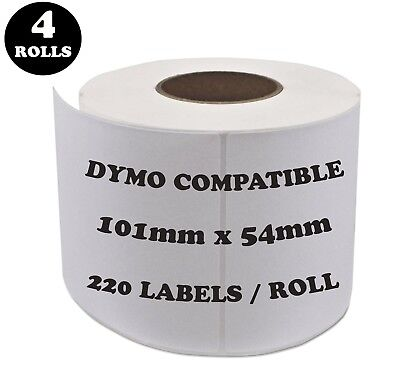 4 Rolls SD99014 Compatible Dymo Label 99014 Shipping Address Labels