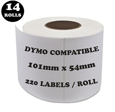 14 Rolls SD99014 Compatible Dymo Label 99014 Shipping Address Labels