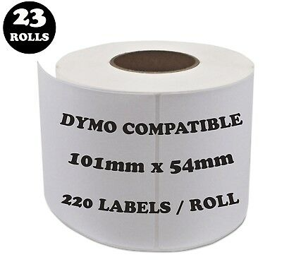 23 Rolls SD99014 Compatible Dymo Label 99014 Shipping Address Labels