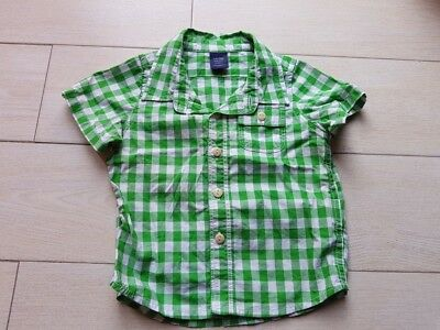 "Chemise manches courtes ""Baby Gap"" 6 / 12 mois"