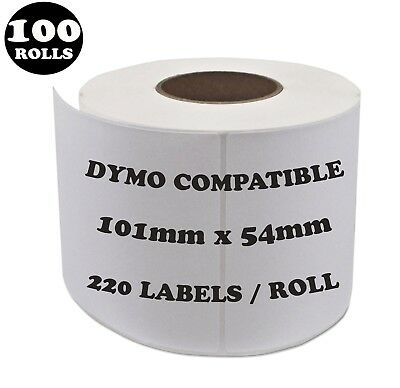 100 Rolls SD99014 Compatible Dymo Label 99014 Shipping Address Labels