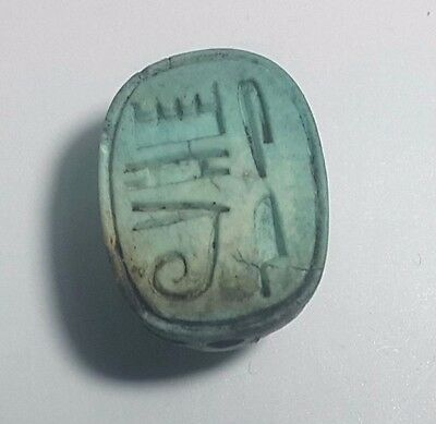 Rare Ancient Egypt Egyptian antique Scarab e New Kingdom (1549–1069) BC