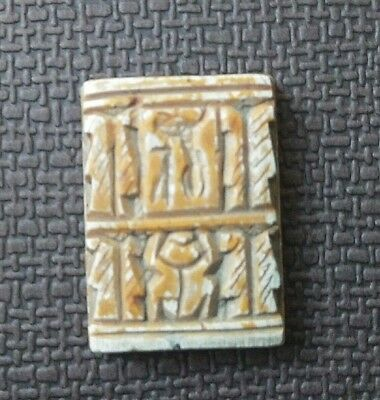 Rare Ancient Egypt Egyptian Antique stone talisman amulet  (1000-600 BC)