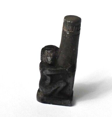 RARE ANCIENT EGYPTIAN stone BABOON  (1000–1500 BC