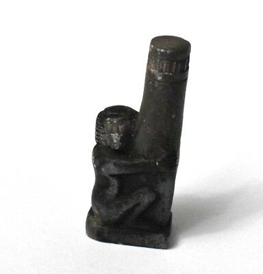 RARE Ancient Egypt Egyptian Antique stone BABOON  (1000–1500 BC