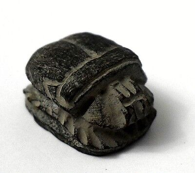 Rare Ancient Egyptian Egypt Antique stone scarab  (1069–332 BC)