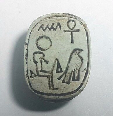 Rare Ancient Egypt Egyptian antique Scarab h New Kingdom (1549–1069) BC