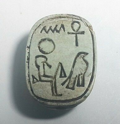 Rare Ancient Egyptian   ‎Scarab h New Kingdom (1549–1069) BC