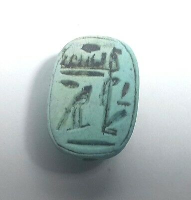 Rare Ancient Egypt Egyptian antique ‎Scarab b New Kingdom (1549–1069) BC