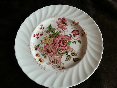 Vintage 1930's Royal Staffordshire Chelsea Rose CLARICE CLIFF side plate 16cm