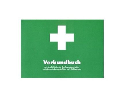 First-Aid Book Accident Book Bg First Aid Documentation A5 Green