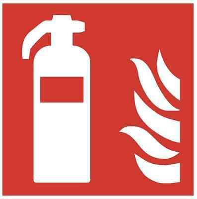 Fire Extinguisher Shield Fire Safety Signs Luminescent Pictogram Symbol Asr Iso