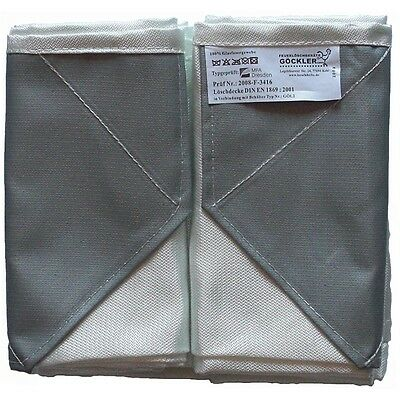 Fire Blanket 160x180cm Din en 1869 Extra Thick Model Fire Protection Ceiling