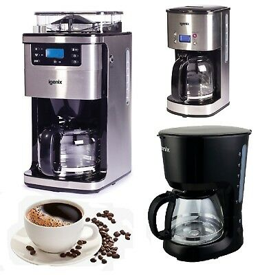 Coffee Machines | Filter Coffee Makers | Bean to Cup | Igenix