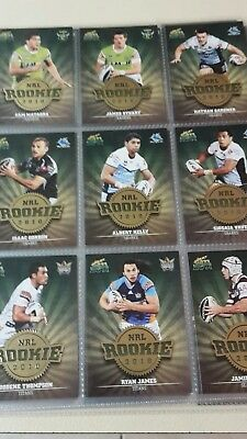 Nrl Rookie 2010 - 2011 select complete set of 59