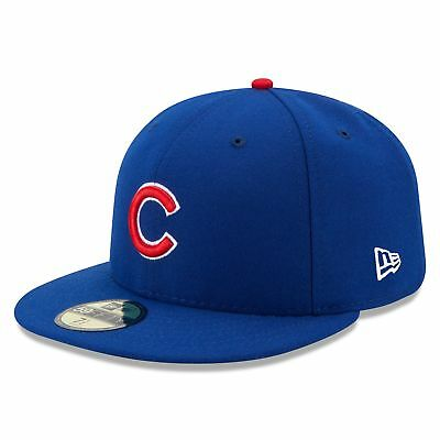 MLB Chicago Cubs New Era Autentico On Field 59FIFTY Cappello Cappellino Baseball