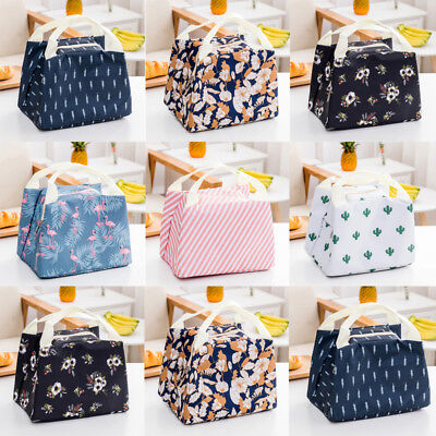 Thermal Insulated Lunch Box Cooler Bag Tote Bento Pouch Lunch Container Portable