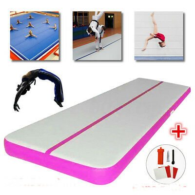 Inflatable Air Track Floor Mat, Gymnastics Yoga Fitness Training Gym 500*50*10cm