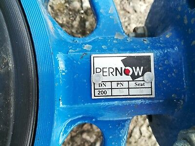 PERNOW BUTTERFLY VALVE, Various sizes Available (DN200, DN150 & DN80)