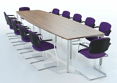 Meeting / Boardroom / Conference Barrel Top Table 3500 x 1200mm 3.5M
