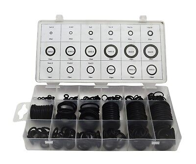279 piece Metric O-Ring Kit. 18 Different Sizes