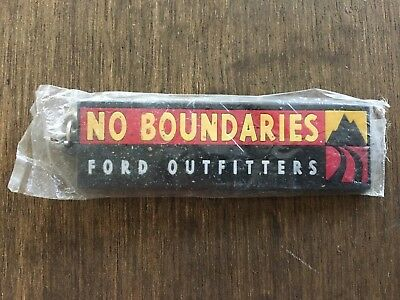 Vintage Ford Keychain, Outfitters No Boundaries Key Ring, Authentic, NIB!!