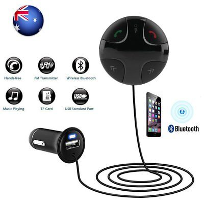 Handsfree Wireless Bluetooth FM Transmitter Car Kit Mp3 Player with USB Charger^