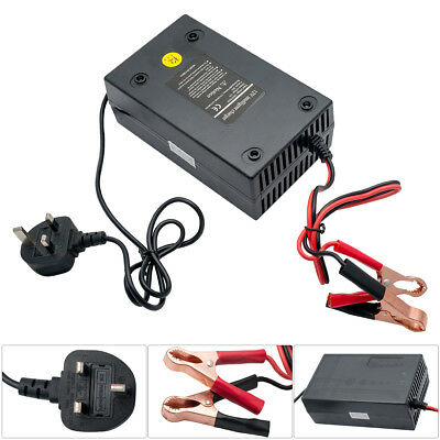 Intelligent 12V 20A Motorcycle Motorbike Battery Charger Automatic Smart Trickle