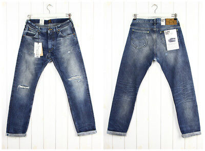 8ab3667f ---New Lee 101 Rider 5 Years Denimhead Wash Jeans Selvage Slim Tapered Fit