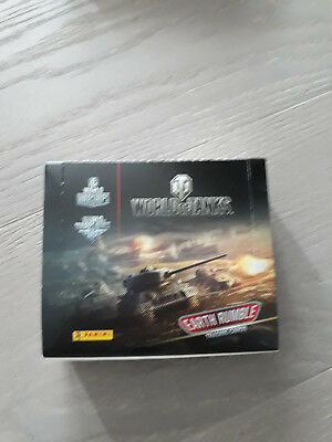 World of Tanks Trading Cards Box mit 24 Boostern