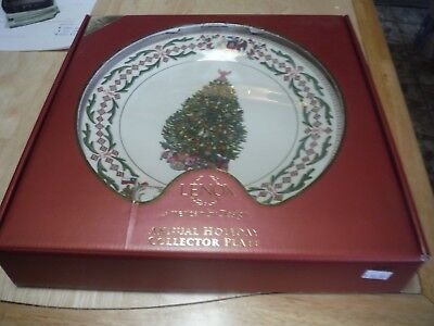 Lenox 2011 CHILE Trees Around The World Plate Annual Christmas
