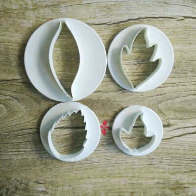 4Design Cookie Cutter Plastic Flame Biscuit Pastry Cake Baking Mould Cake Decor