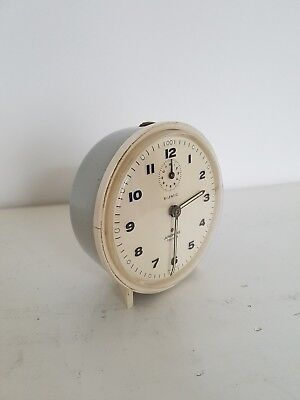 Réveil Vintage Silentic Junghans Trivox - Made in Germany - Old Clock