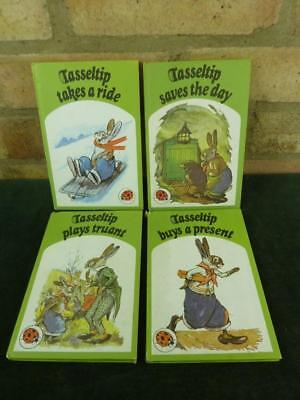 4 Vintage Ladybird Tasseltip books traunt saves day ride & present series 497