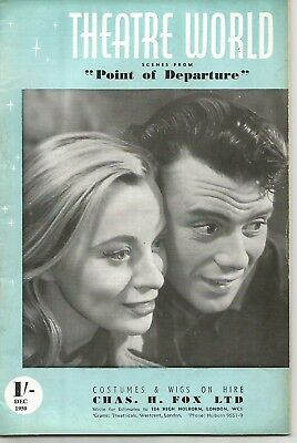 Theatre World December 1950 Mai Zetterling / Dirk Bogarde / Alicia Markova