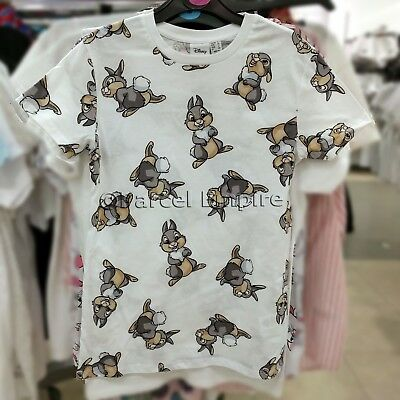 *ALL SIZES* Official Licensed Disney THUMPER T-Shirt Top Bunny Rabbit Bambi Cute
