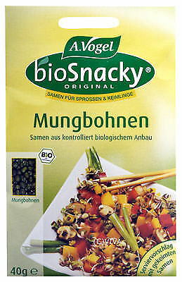 (10,63 EUR/100g) A. Vogel - Bioforce Mungbohnen Keimsaat 40g