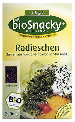 (4,81 EUR/100g) A. Vogel - Bioforce Radieschen  Keimsaat 150g