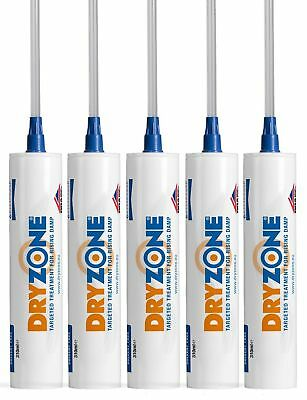 5 x Tubes Dryzone Dpc Injection Cream 310ml | Damp Proof Injection Cream