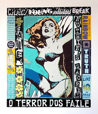FAILE- The right one... Screen print signed & numbered Street, urban art stencil