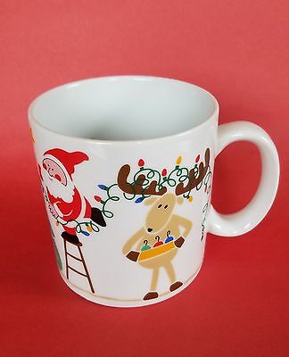 AVON vintage 1985 Christmas Lights Collectors Coffee Mug in Perfect Condition!