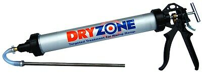 Dryzone Damp Proofing applicator Gun for 600ml damp proof cream, Injection, DPC