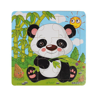 Wooden Panda Jigsaw Toys For Kids Education And Learning Puzzles Toys Hot Sale