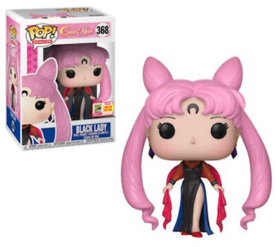 2018 SDCC Funko Pop! Sailor Moon Black Lady #368 Exclusive Presale