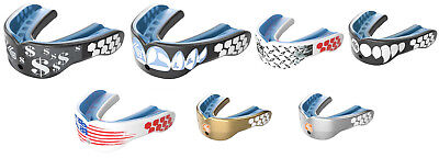 Shock Doctor Gel Max Power Mouthguard Adult Convertible Graphic Mouthguard