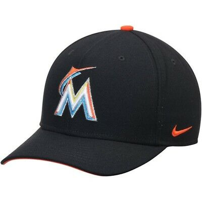 Miami Marlins Nike Wool Classic Adjustable Performance Cap