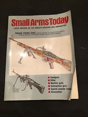 SMALL ARMS TODAY  BY EDWARD CLINTON EZELL 1984 256 Pages Good